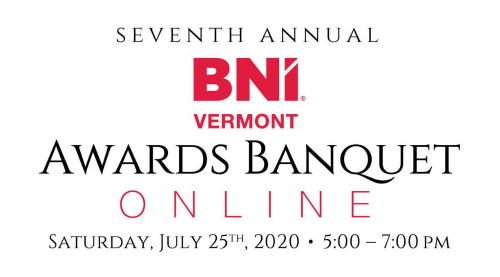 7th Annual BNI Vermont Awards Banquet